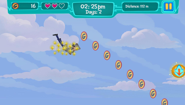 Inspector Gadget Descent Into Madness Game Screenshot.