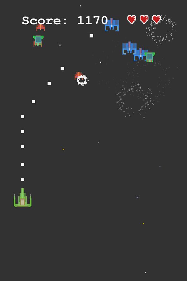 Invace Spaders Game Screenshot.