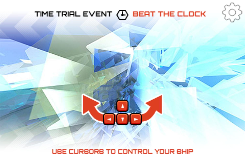 Iondrift Game Controls Screenshot.