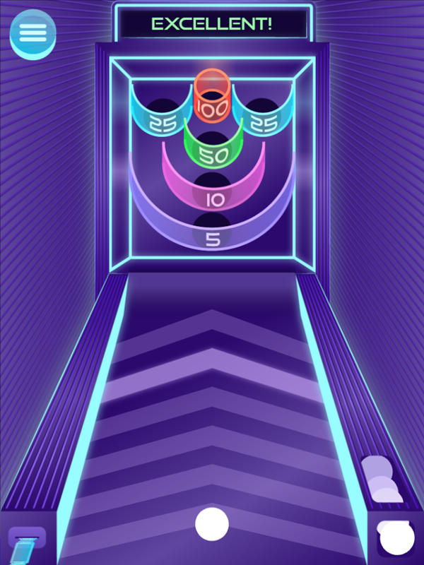 It's Glow Time Mean Median Mode and Range Game Play Screenshot.