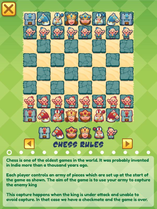 Junior Chess Chess Rules Screenshot.
