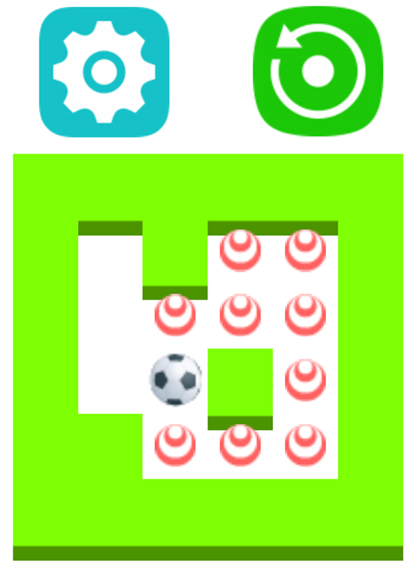 Kich the Ball Game Screenshot.