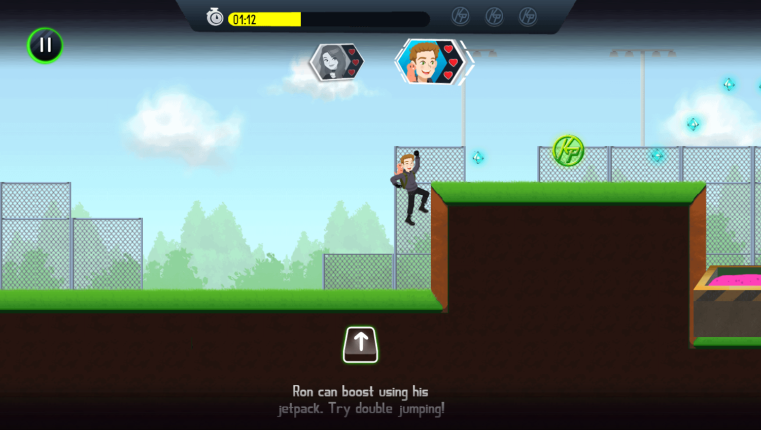 Kim Possible Mission Improbable Game How To Boost Screenshot.