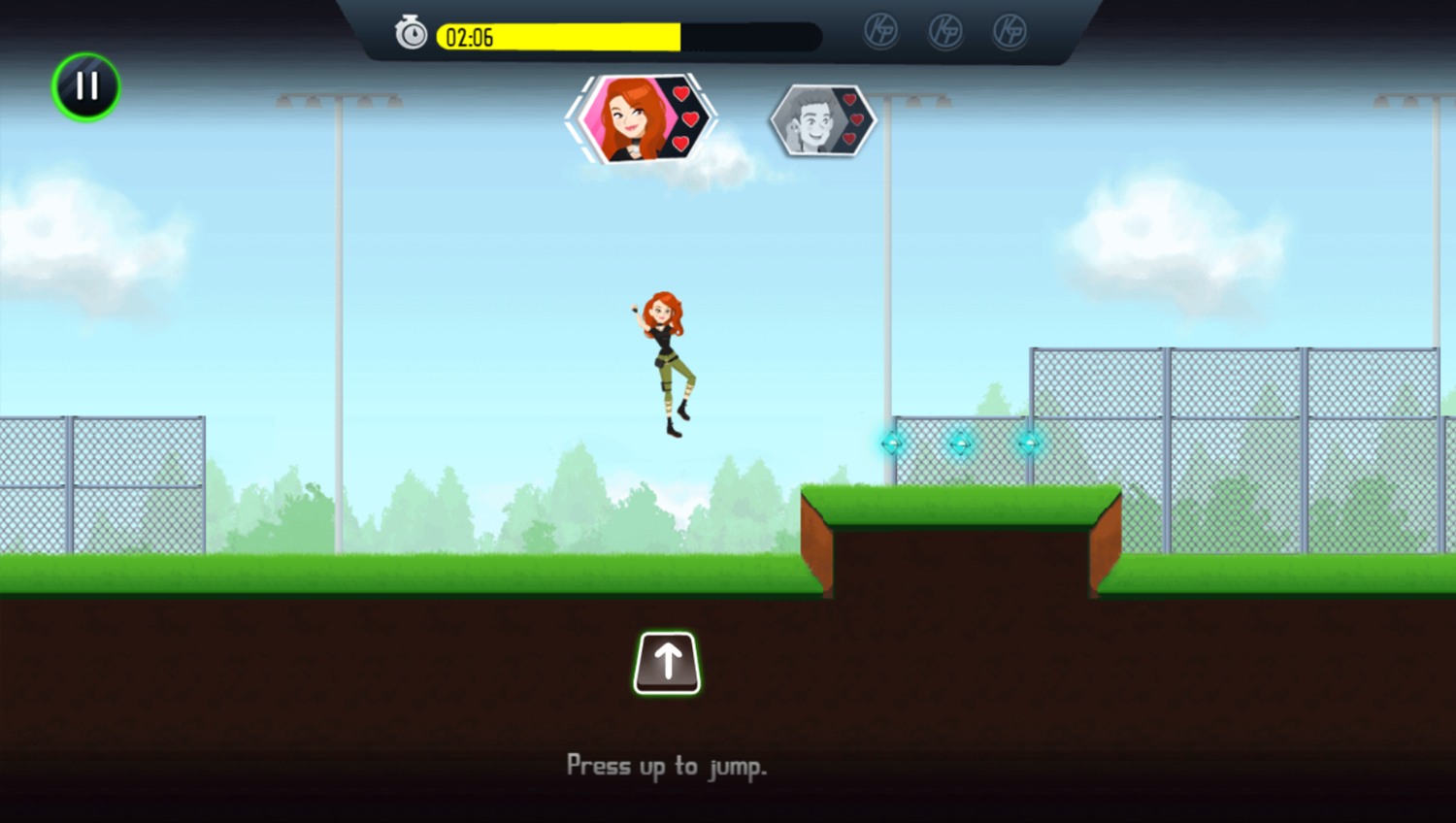 Kim Possible Mission Improbable Game How To Jump Screenshot.
