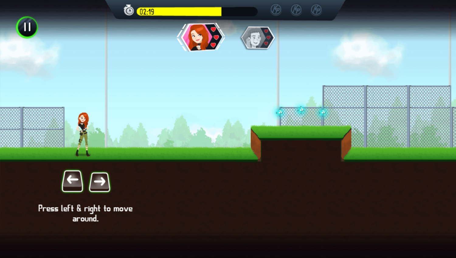 Kim Possible Mission Improbable Game How To Move Screenshot.