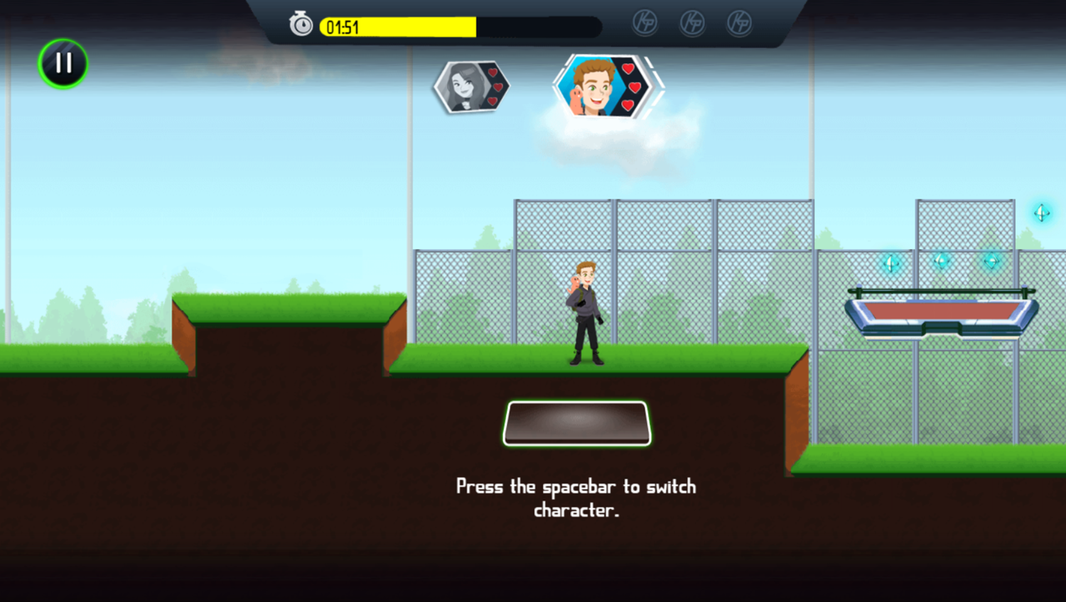 Kim Possible Mission Improbable Game Switch Character Screenshot.