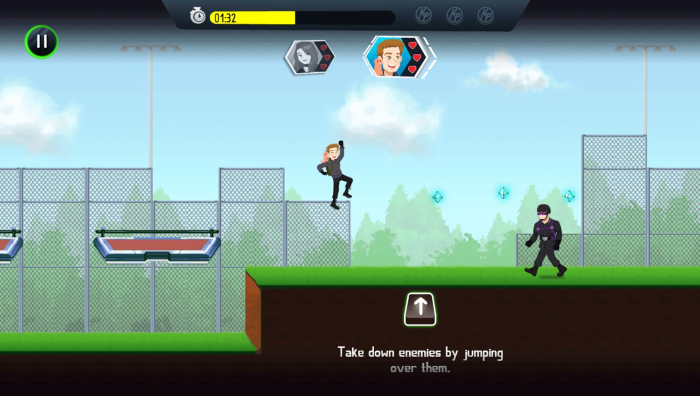 Kim Possible Mission Improbable Game Take Down Enemies Screenshot.