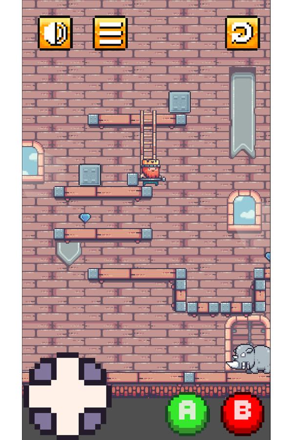 King of The Rocks Game Screenshot.