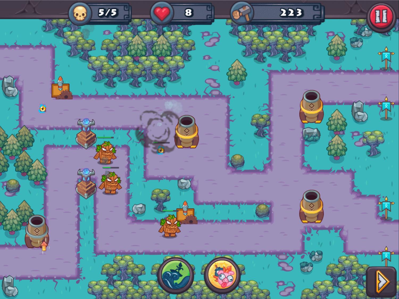 King Rugni Game Screenshot.