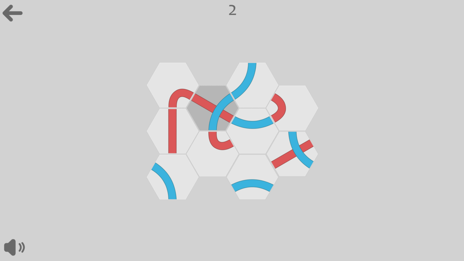 Knots Game Screenshot.