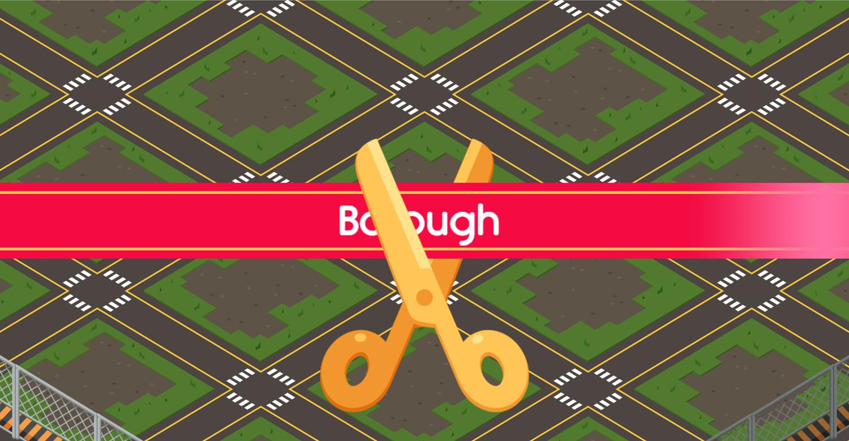 Lego City Adventures Build and Protect Borough Ribbon Screenshot.