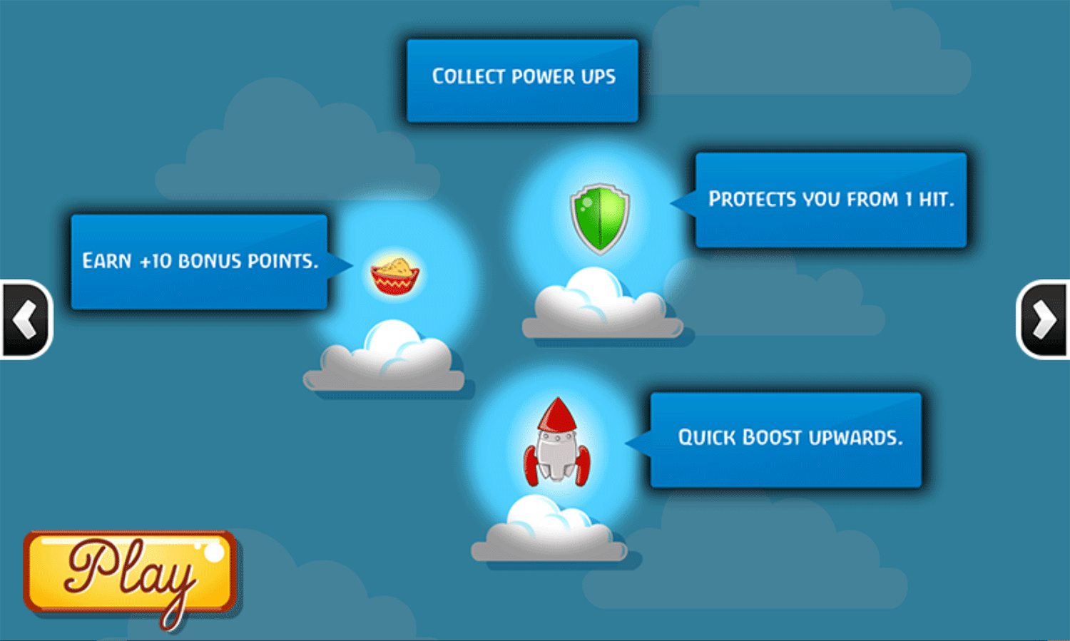 Looney Tunes Tweety Takes Off Game Instructions Screenshot.