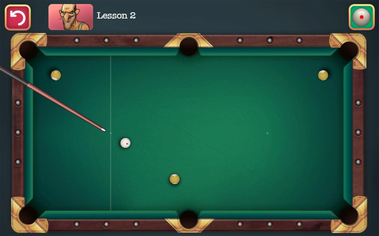 Mafia Billiard Tricks Game Screenshot.
