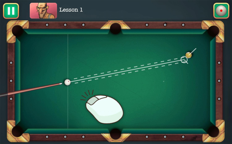 Mafia Billiard Tricks Game How To Play Screenshot.