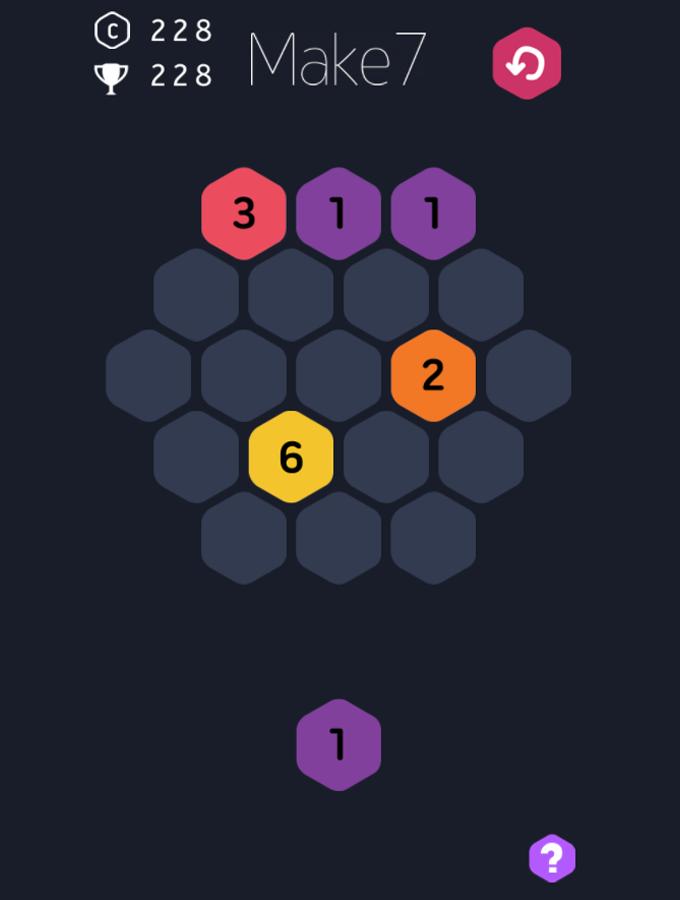 Make-7 Game Screenshot.