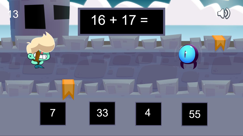 Math Boy Game Screenshots.