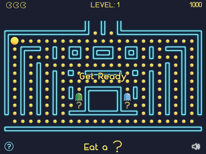 Math Man Jr Game Start Screenshot.