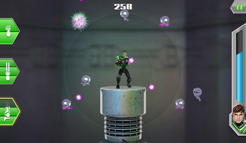 Max Steel Turbo 360 Game Play Screenshot.