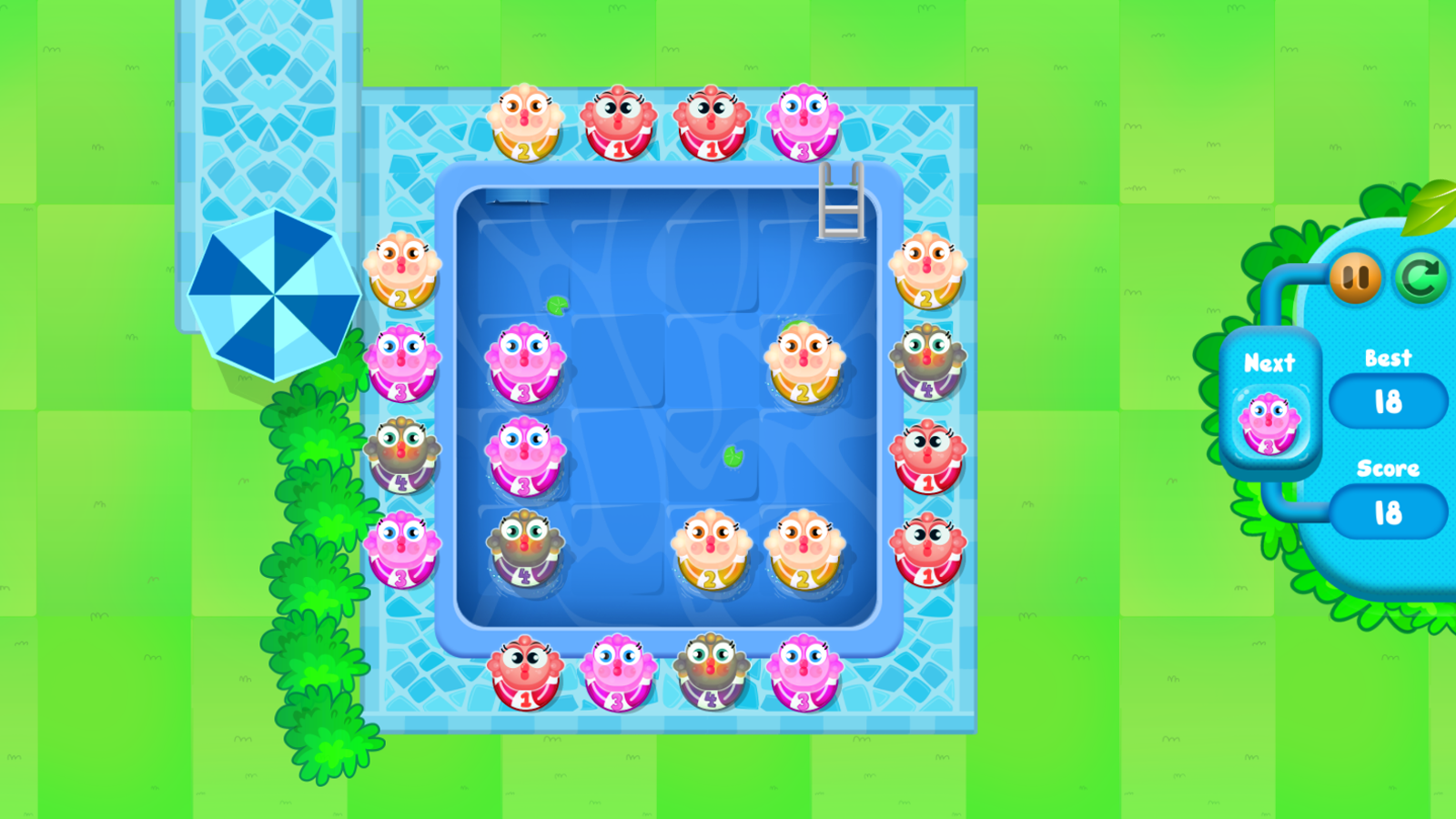 Merge Fish Game Screenshot.