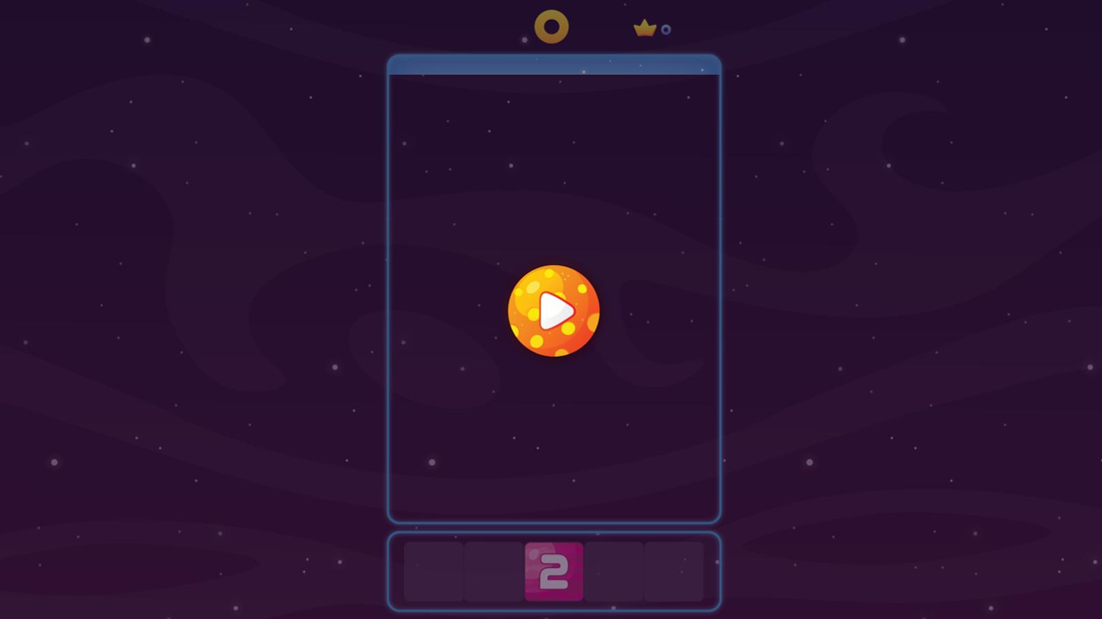 Merge Push Game Welcome Screenshot.