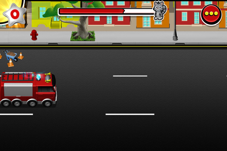 Mickey and Minnie's Universe Fire Truck Screenshot.