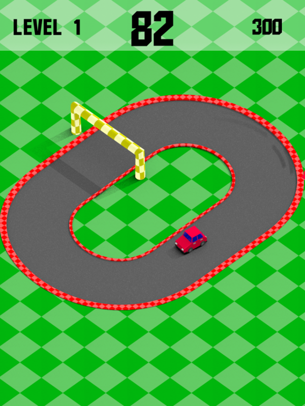 Mini Drifts Game Game Play Screenshot.