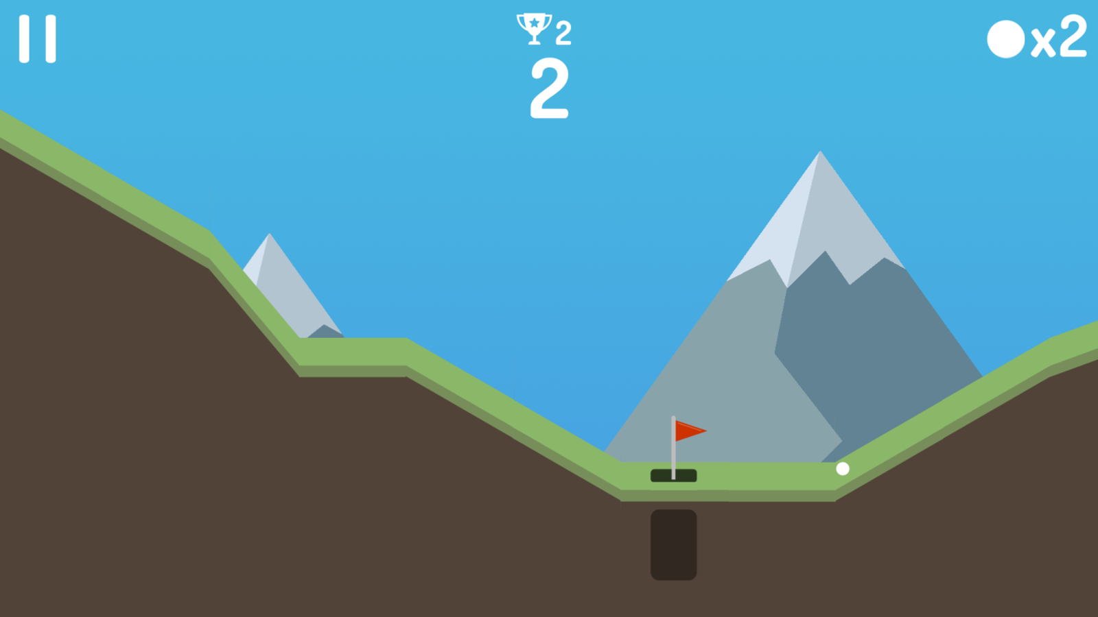 Mini Golf Game Screenshot.