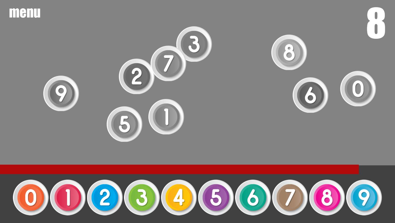 Missing Number Game Play Screenshot.