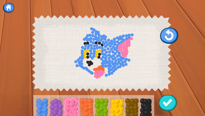 Molly of Denali Beading Art Game Own Design Screenshot.
