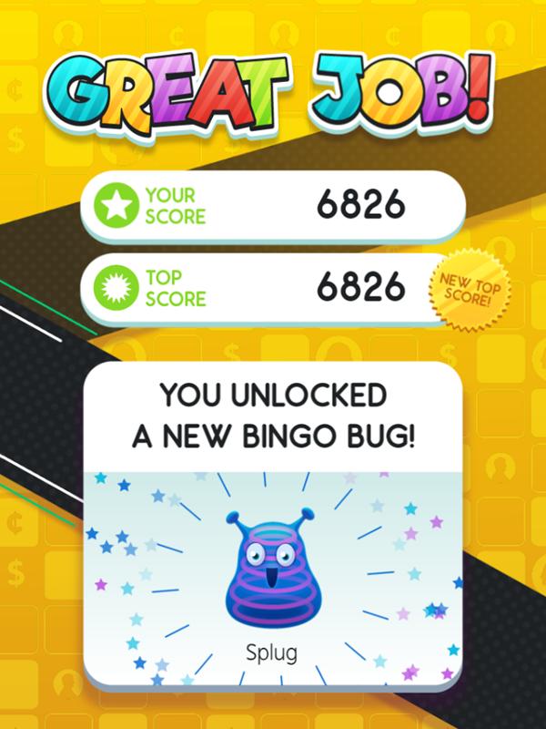 Money Bingo Game Unlock Bug Screenshot.