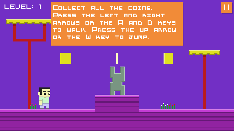 Money Land 2 Game Level Start Screenshot.