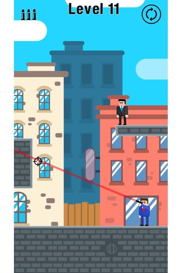 Mr Bullet Game Screenshot.