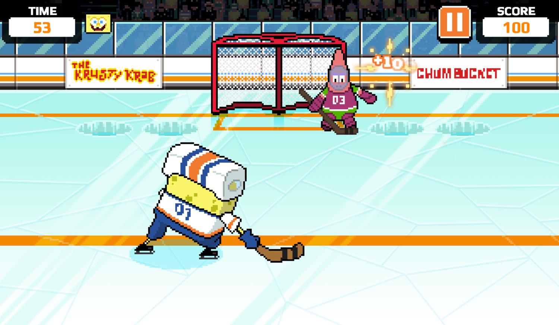 Nick Champions of the Chill 2 Game Bikini Bottom Shootout Gameplay Screenshot.