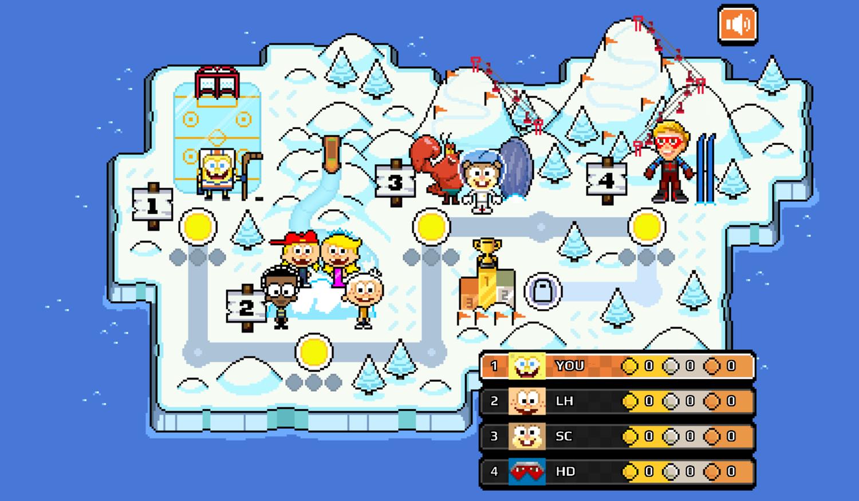 Nick Champions of the Chill 2 Game Start Screenshot.