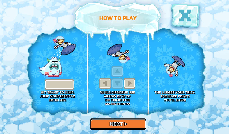 Nick Champions of the Chill 2 Game High Kickin Shreddin How To Play Screenshot.