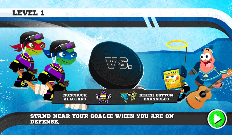Nick Hockey Stars Versus Screenshot.