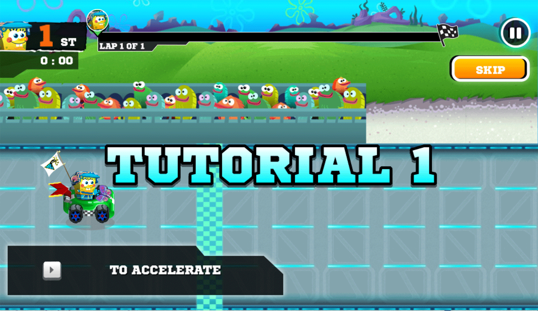 Nick Racing Stars How To Play Screenshot.