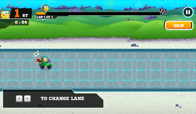 Nick Racing Stars Instructions Screenshot.