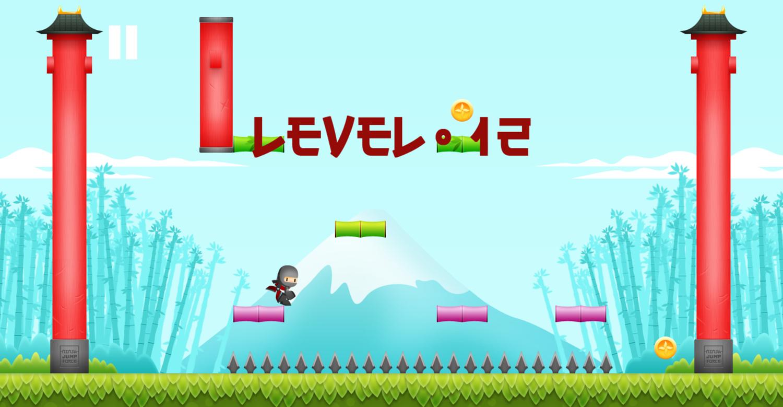 Ninja Jump Force Game Screenshot.