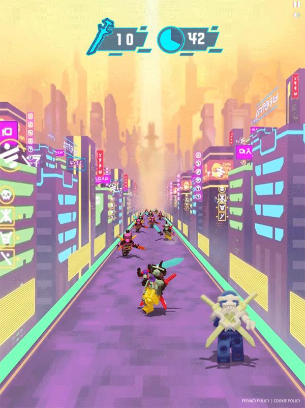 Ninjago Keytana Quest Game 1st Level Screenshot.