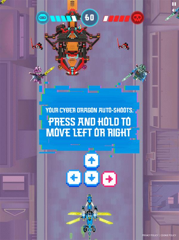 Ninjago Keytana Quest Game 2nd Level How To Play Screenshot.