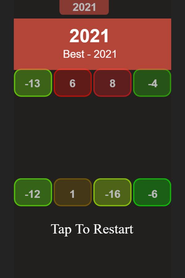 Number Up Score Screenshots.