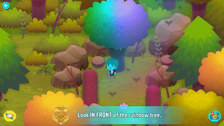 Odd Squad Sector 21 Game Play Screenshot.