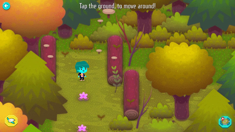 Odd Squad Sector 21 Game Instructions Screenshot.