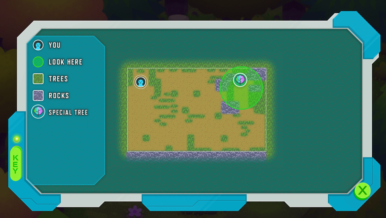 Odd Squad Sector 21 Game Open Map Screenshot.