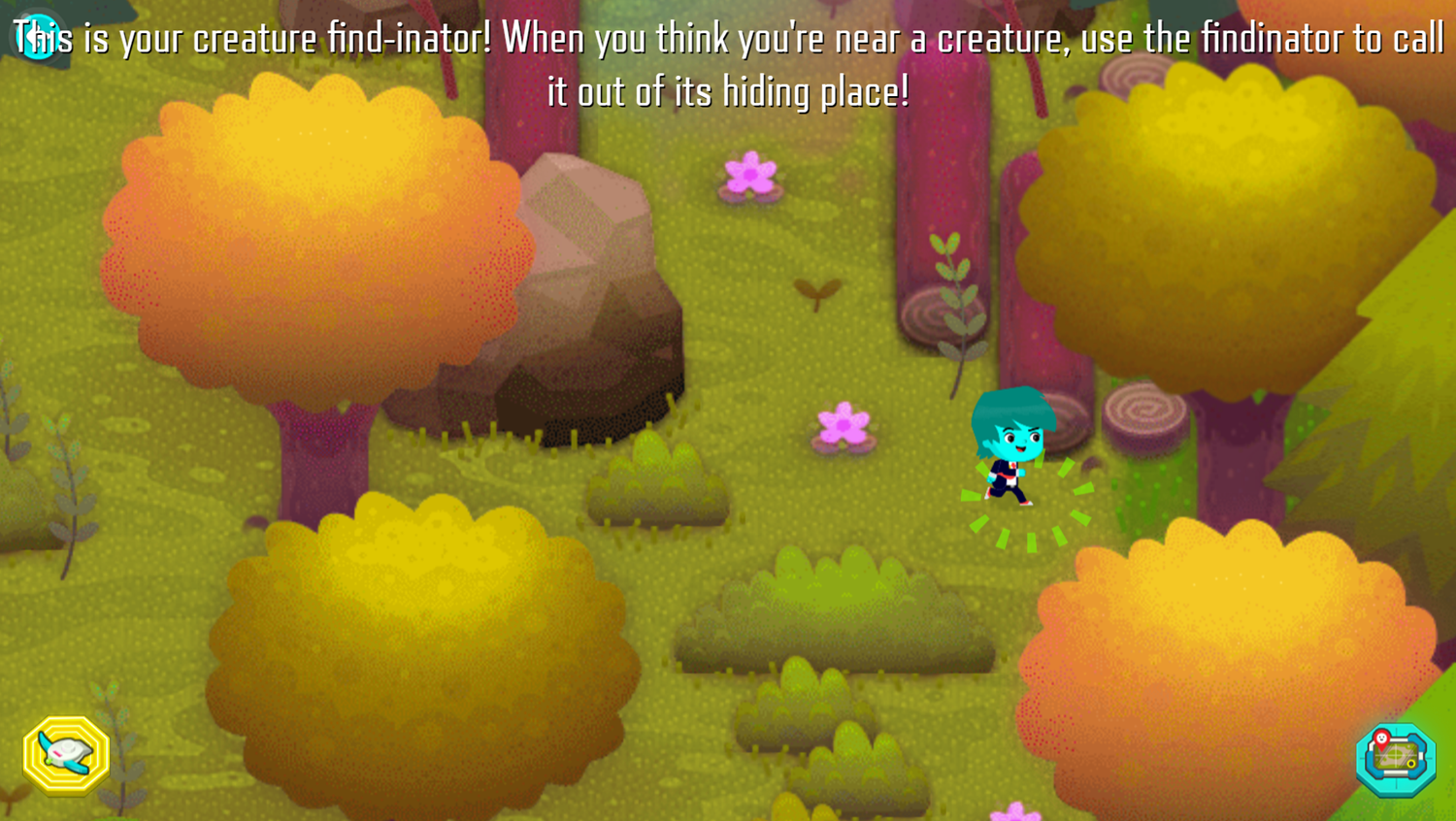 Odd Squad Sector 21 Game Play Tips Screenshot.