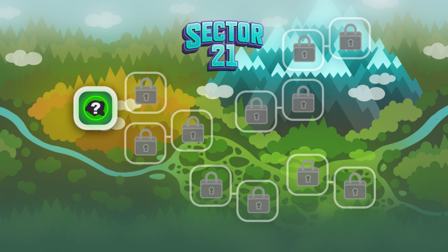 Odd Squad Sector 21 Game Stage Select Screenshot.