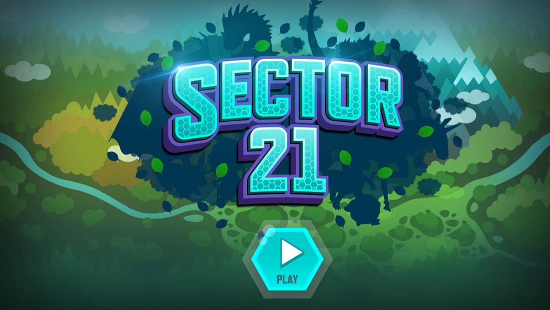 Odd Squad Sector 21 Game Welcome Screen Screenshot.