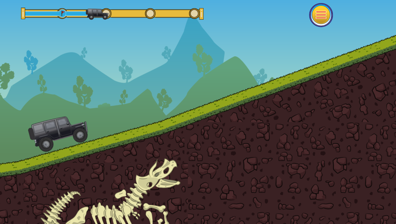 Off Road Climber Game Play Screenshot.