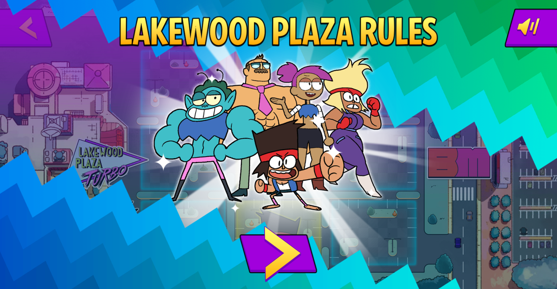 OK K.O. Let's Be Heroes Parking Lot Wars Lakewood Plaza Rules Screenshot.